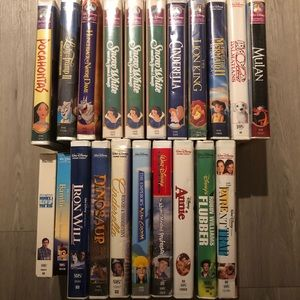VHS Disney Bundle